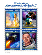 GUINEA BISSAU 2019 - Apollo 11, Eagle. Official Issue [GB190501a] - Arends & Roofvogels