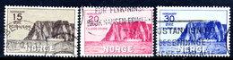 NORWAY 1930 Tourism: North Cape Set Used.  Michel 159-61 - Norvège