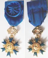 Médaille  OFFICIER O.N.M Ordre Du Mérite ORDONNANCE ONM - Francia