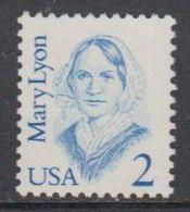 USA 1987 Mary Lyon 1v ** Mnh (43134C) - Verenigde Staten