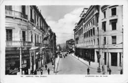 """M08229 """"ATHENES-RUE DU STADE- ATENE - GRECIA"""" ANIMATA - AUTO ANNI '30/40  CART. ORIG. SPED. 1941 - Grecia"""