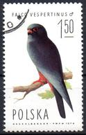 POLAND POLOGNE 1975 - 1v - Used - Birds Faucons Falcons Falconry Falcones Falken Halcones Falchi Oiseaux Geflügel Falcon - Arends & Roofvogels