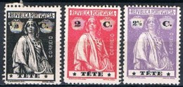 Tete, 1914, # 26, 29/30, MH And MNG - Tete