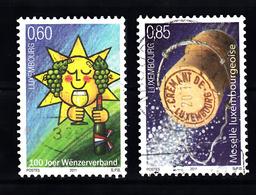 Luxemburg 2011 Mi Nr 1906 + 1907 : - Gebruikt