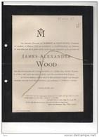 James Wood ° Stanstead Abbots 14/7/1819 + Tournai 23/3/1893 Le Clement De Saint Marcq East Hertfordshire, England - Obituary Notices