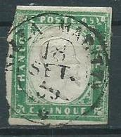 Timbre Italie 1863 - Used