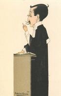 METIER ; AVOCAT - THEME ; JUSTICE - ILLUSTRATEUR; PUBIS DE CHANOINE - 1914 . - Autres