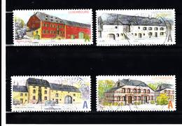 Luxemburg 2011 Mi Nr 1926 - 1929 Boerderijen - Gebruikt