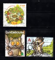 Luxemburg 2011 Mi Nr 1909 + 1911 + 1930 , Comic, Christmas - Luxemburg