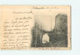 BEAUVOIR En ROYANS - Ruines De La Chapelle Du Château - Dos Simple - Ed. Chosson - 2 Scans - Andere Gemeenten