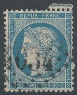Lot N°49190  N°37, Oblit GC 4034 Troyes, Aube (9) - 1870 Siege Of Paris