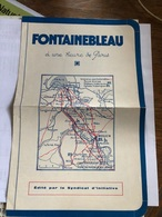 Fontainebleau - Dépliants Touristiques