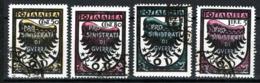 Egeo Occ.Tedesca 1944 Sass.A56/59 O/Used VF/F - Aegean (German Occ.)