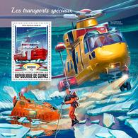 GUINEA 2018 - Polar Transport - Mi B2929; CV=20 € - Other Means Of Transport