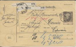 POSTE DE GABLONZ - Storia Postale