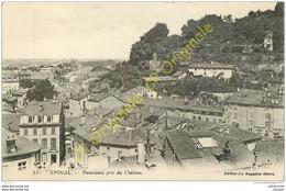 88. EPINAL . Panorama Pris Du Chateau . - Epinal