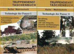 Truppendienst Taschenbuch Reihe Wehrtechnik - Technologie Der Panzer Band 1-3 Kplt. R. M. Ogorkiewicz - Bücher