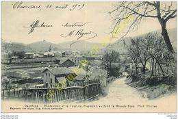 38. CHARAVINES Et La Tour De Clermont.  La Grande Sure . - Charavines