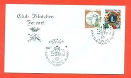 LIONS CLUB - MARCOFILIA -PADOVA  1995 - Francobolli
