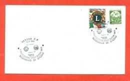 LIONS CLUB - MARCOFILIA -VERONA   1995 - Francobolli