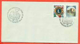 LIONS CLUB - MARCOFILIA - MONTECATINI TERME 1994 - Francobolli