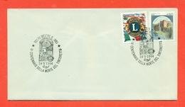 LIONS CLUB - MARCOFILIA - MESTRE 1994 - Francobolli