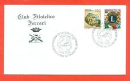 LIONS CLUB - MARCOFILIA - FIESOLE 1993 - Francobolli