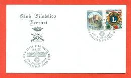 LIONS CLUB - MARCOFILIA - STRA 1993 - Francobolli