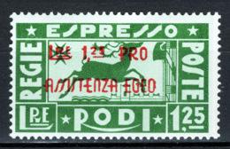 Egeo 1943 Sass.E3 **/MNH VF/F - Aegean (German Occ.)