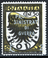 Egeo 1944 Sass.A56 **/MNH VF/F - Aegean (German Occ.)