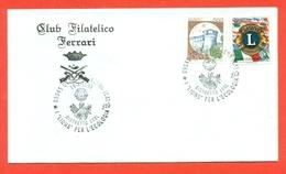 LIONS CLUB - MARCOFILIA - QUARTU SANT'ELENA 1993 - Francobolli