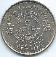 Nepal - 25 Rupees - VS2060 (2003 - २०६०)- 25th Anniversary Of Eye Care Society - KM1164 - Nepal