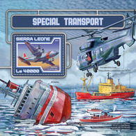 SIERRA LEONE 2017 - Polar Transport - Mi B1207 - Other Means Of Transport