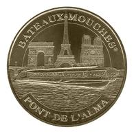 Monnaie De Paris , 2012 , Paris , Bateaux Mouches Pont De L'Alma - Monnaie De Paris