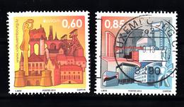 Luxemburg 2012 Mi Nr  1943 + 1944 Architectuur - Gebruikt
