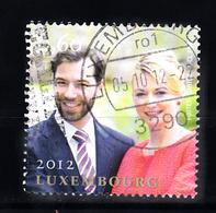 Luxemburg 2012 Mi Nr  1945 Verloving Van Groot-hertog Guillaume Und Grävin Stéphanie De Lannoy. - Gebruikt