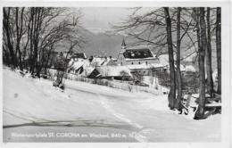AK 0258  St. Carona Am Wechsel - Verlag Ledermann Um 1960 - Wechsel