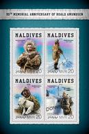 MALDIVES 2018 - R. Amundsen, Seaplane - YT CV=15 €, 6170-3 - Polar Flights