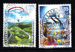 Luxemburg 2012 Mi Nr  1947 + 1948 - Gebruikt