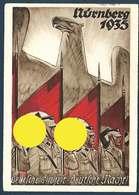 Allemagne - Carte De Propagande - Reichsparteitag Nsdap Nürnberg 1935 - Evènements