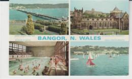 Postcard - Bangor N. Wales 4 Views - Card No..b4721 - Unused Very Good - Postcards