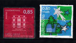 Luxemburg 2012 Mi Nr  1955 + 1960 - Gebruikt