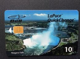 TELECARTE CANADA  BELL La Puce  *10$  Niagara Falls - Canada