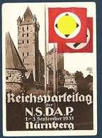 Allemagne - Carte De Propagande - Reichsparteitag Nsdap Nürnberg 1933 - Evènements