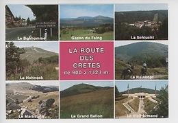 La Route Des Crêtes : Gazon Du Faing, Bonhomme, Rainkopf Hohneck, Schlucht, Vieil Armand, Markstein (multivues) - Frankrijk
