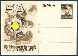 Allemagne - Carte De Propagande - SA   Berlin 1938 - Guerra 1939-45