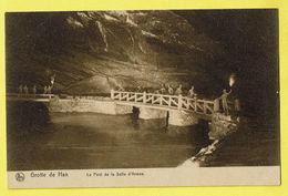 * Han Sur Lesse (Rochefort - Namur - La Wallonie) * (Nels, Nr 14) Grotte De Han, Grot, Le Pont De La Salle D'armes, Rare - Rochefort