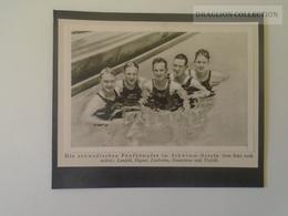 KA404.12 Jeux Olympiques Olympia 1932 Olympic Games Los Angeles -  Swedish Pentathletes -Sweden Lundahl,Haynar,Lindström - Olympische Spiele