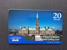 CARTE PRÉPAYÉE CANADA  *20$  Parlement Du Canada - Canada