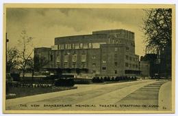 STRATFORD UPON AVON : THE NEW SHAKESPEARE MEMORIAL THEATRE - Stratford Upon Avon